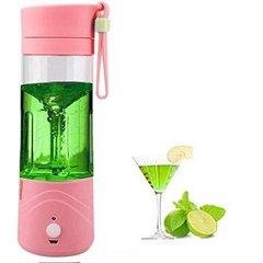 Блендер Smart Juice Cup Fruits USB Розовый