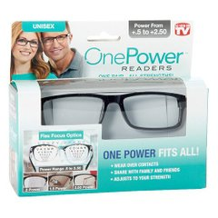 Очки для зрения One power fits all ( power from +.5to +2.50 )